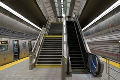 第二个大道地铁53 免版税库存照片