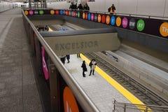 第二个大道地铁56 免版税库存图片