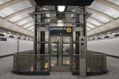 第二个大道地铁57 免版税图库摄影