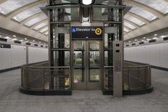 第二个大道地铁59 免版税图库摄影