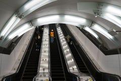 第二个大道地铁66 库存照片