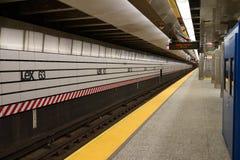 第二个大道地铁69 免版税库存照片