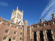第二个法院和教堂,圣约翰` s学院,剑桥 免版税库存照片