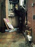 第二个街道胡同在哈里斯堡宾夕法尼亚 免版税库存图片