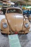 从第二场战争的Vw甲虫在SinsHeim博物馆 免版税库存图片