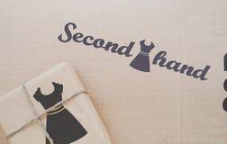 第二手衣裳 简单的商业 库存照片