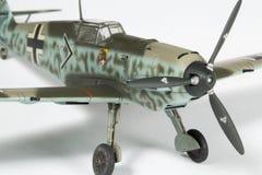 第二架wolrd战争飞机塑料模型  免版税库存照片