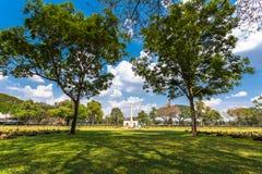 第二次世界大战公墓在唐Rak北碧泰国 免版税图库摄影