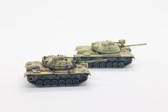 第二次世界大战坦克模型 库存照片