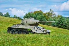 第二次世界大战坦克  图库摄影