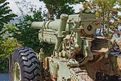 第二次世界大战大炮  免版税库存照片