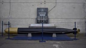第二次世界大战水下纪念品,旧金山 库存图片