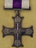 从第二次世界大战的军事十字架 库存照片