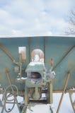 第二次世界大战的冬天枪,特写镜头 库存照片