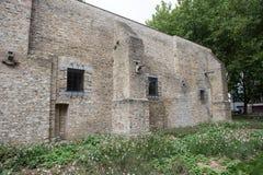 从第二次世界大战的历史地堡在弗尔内,比利时w 免版税图库摄影