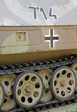从第二次世界大战的坦克 免版税库存图片