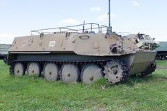 第二次世界大战的时期苏联坦克  免版税库存照片