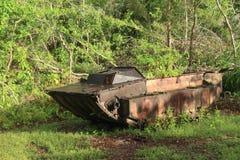 从WWII的美国坦克 免版税库存照片