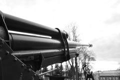 第二次世界大战的苏联高射炮 免版税图库摄影
