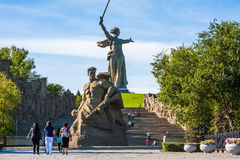 第二次世界大战纪念品在伏尔加格勒俄国 免版税库存图片