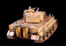 第二次世界大战设计德国大量坦克  免版税库存照片
