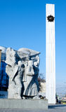 第二次世界大战1939-1945,胜利纪念品,梁赞,俄罗斯 免版税图库摄影
