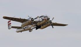 第二次世界大战B-25 Mitchell轰炸机 免版税图库摄影