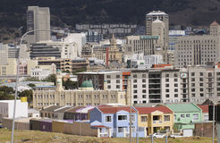 第六区市开普敦南非 免版税库存图片