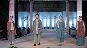 第十五个系列青年记忆时尚展示 免版税库存照片