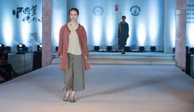 第十六个系列翻译时尚展示 免版税图库摄影