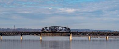 第十四座街道桥梁在路易斯维尔 库存图片
