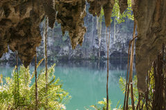 第四个湖 库存图片