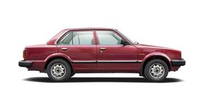 第四代本田喜美的轿车 库存照片