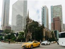 第四长老会在芝加哥 免版税库存照片