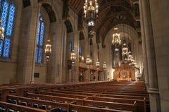 第四长老教会员在街市芝加哥 免版税库存图片