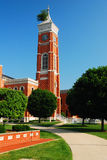 第开特县法院大楼和著名树 免版税库存照片