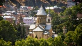第比利斯乔治亚Gruzia 免版税图库摄影