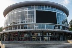 第比利斯音乐堂,乔治亚,欧洲 免版税库存照片
