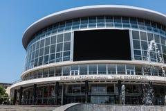 第比利斯音乐堂,乔治亚,欧洲 免版税库存图片