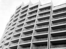 第比利斯,乔治亚- 2018年3月25日:一个新的高住宅公寓的建筑在第比利斯,乔治亚 免版税库存照片