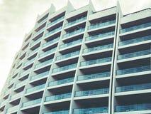 第比利斯,乔治亚- 2018年3月25日:一个新的高住宅公寓的建筑在第比利斯,乔治亚 免版税库存图片