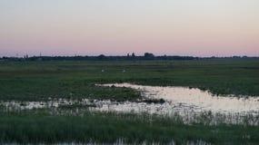 第聂伯河,城市Dnipro祖国 库存照片