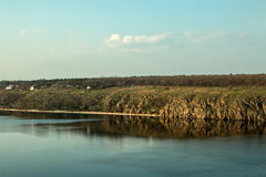 第聂伯河 库存照片