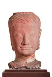 第17 - 18世纪A d 菩萨的头,阿尤特拉利夫雷斯样式,泰国 库存照片