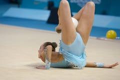 第32个世界冠军在节奏体操方面 免版税库存图片