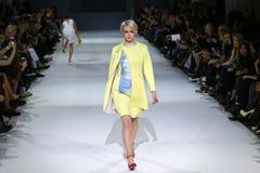 第39个乌克兰时尚星期在基辅 库存照片