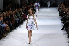 第39个乌克兰时尚星期在Kyiv,乌克兰 免版税库存照片
