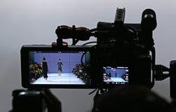 第39个乌克兰时尚星期在Kyiv,乌克兰 免版税库存图片