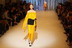 第39个乌克兰时尚星期在Kyiv,乌克兰 免版税图库摄影