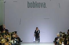 第39个乌克兰时尚星期在Kyiv,乌克兰 库存照片